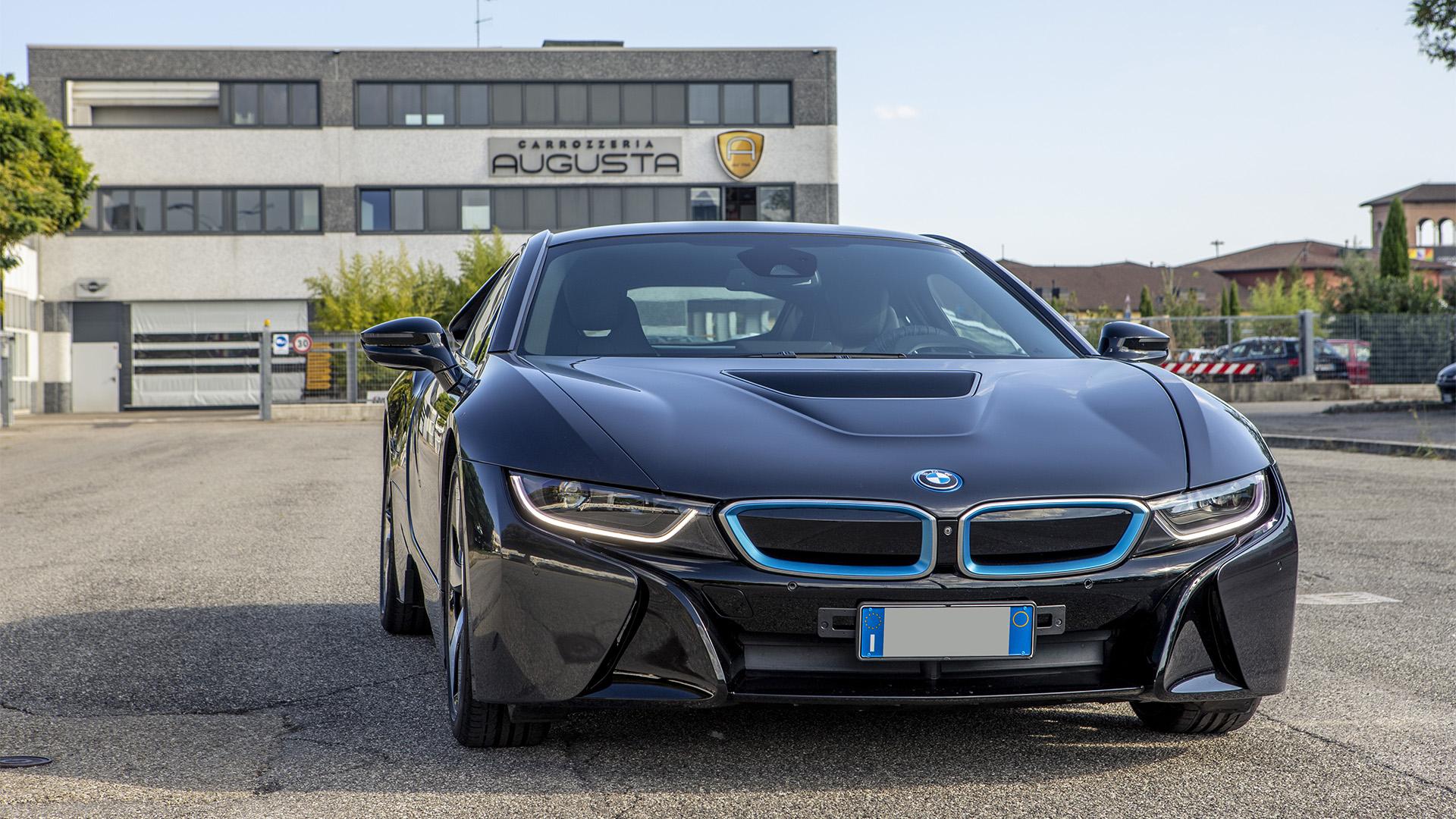 BMW i8 elettrica